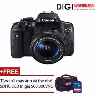 Canon EOS 750D 24.2MP và lens Kit 18-55mm IS STM (Đen) - Hãng phânphối chính thức + Tặng 1 thẻ nhớ 8GB và 1 túi đựng máy ảnh - 10226232 , CA185ELAA3UJ54VNAMZ-6878235 , 224_CA185ELAA3UJ54VNAMZ-6878235 , 13600000 , Canon-EOS-750D-24.2MP-va-lens-Kit-18-55mm-IS-STM-Den-Hang-phanphoi-chinh-thuc-Tang-1-the-nho-8GB-va-1-tui-dung-may-anh-224_CA185ELAA3UJ54VNAMZ-6878235 , lazada.vn ,