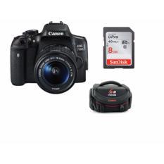 Đánh Giá Canon EOS 750D Kit (EF-S18-55mm IS STM)  Sông Hồng camera