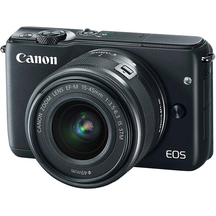 Canon EOS M10 18MP với Lens kit EF-M 15-45