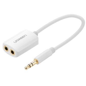 Cáp chia Audio từ 1 ra 2 đầu 3.5mm Ugreen 10738