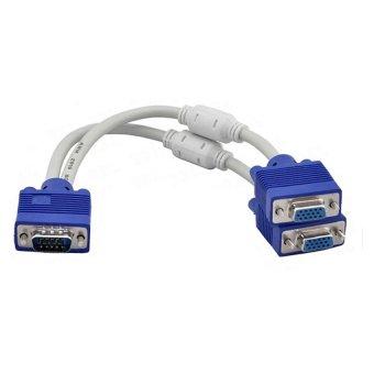 Nên mua Cáp chia VGA 1 cổng ra 2 cổng (Trắng  ở The Gioi Phu Kien Online (Hà Nội)