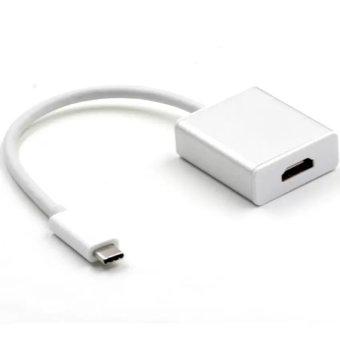 Cáp chuyển tín hiệu từ USB 3.1 sang HDMI kiểu Type C trắng Gia Bách