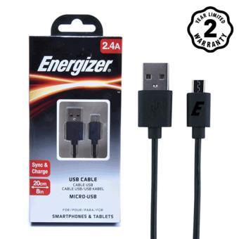 Cáp Energizer Micro USB 20cm (Đen) - 8130499 , EN356ELAA2UQCRVNAMZ-4918119 , 224_EN356ELAA2UQCRVNAMZ-4918119 , 75000 , Cap-Energizer-Micro-USB-20cm-Den-224_EN356ELAA2UQCRVNAMZ-4918119 , lazada.vn , Cáp Energizer Micro USB 20cm (Đen)