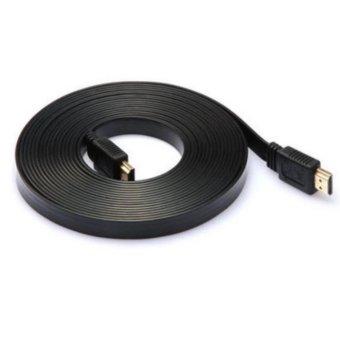 Cáp kết nối TV dẹt độ nét cao 2 đầu HDMI 5m (Đen)