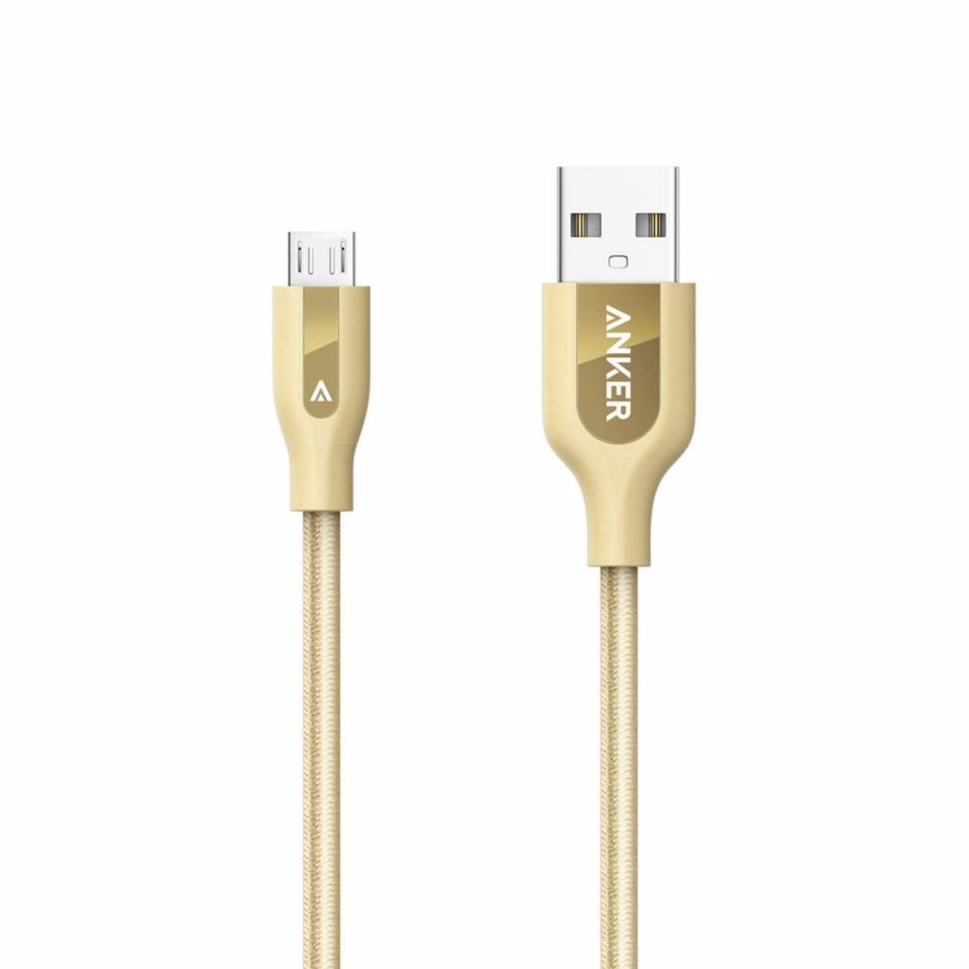 Cáp Micro-USB Anker PowerLine+ 0.9m