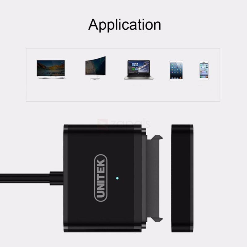 Bảng giá CÁP USB 3.0 -> SATA III 2.5/3.5 UNITEK (Y-1093BK) Phong Vũ