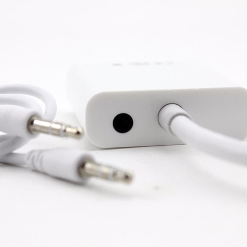 Hình ảnh Cáp xuất hình ảnh Micro HDMI to VGA có Audio