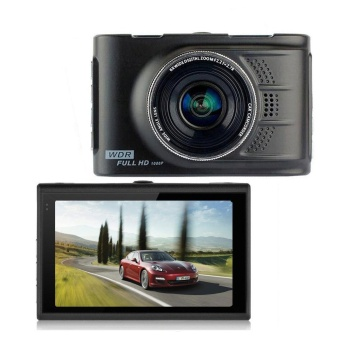 Car 170° 1080P 3.0 Inch Vehicle Digital Video Recorder CameraG-Sensor - intl