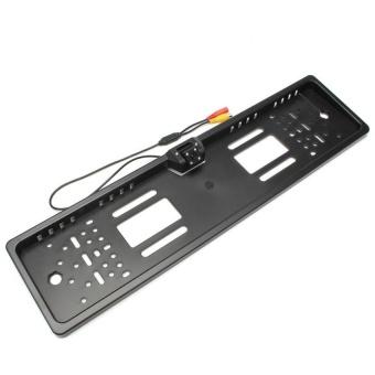 Car Reversing Rear View HD Camera Parking License PlateNightVisionLED Light - intl