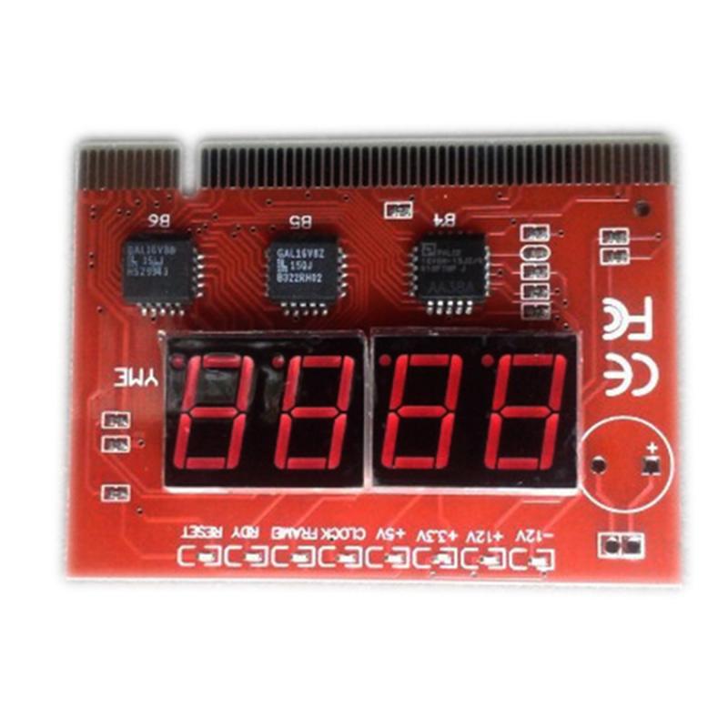 Bảng giá Card test Mainboard 4 số 8 đèn Led (Đỏ) Phong Vũ