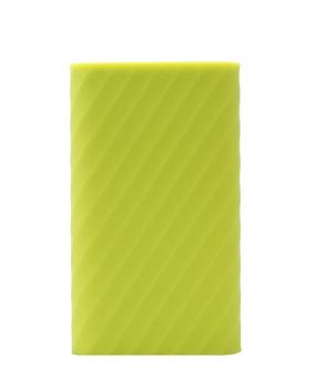 Case bao Silicon cho Pin dự phòng Xiaomi 20000mAh (Xanh neon)