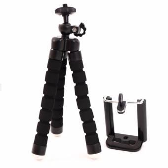 Chân đỡ điện thoại và máy ảnh dạng bạch tuộc SB-DT26 ( ĐEN )