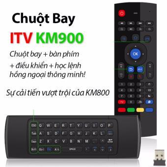 Chuột Bay KM900 Kiêm Bàn Phím Không Dây và Remote Thông Minh