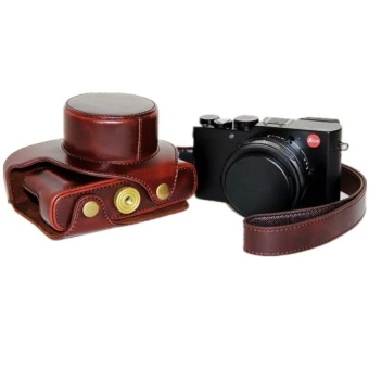 Coffee PU Leather Camera Case Bag Cover for Leica D-LUX TPY109withStrap - intl - 8409844 , OE680ELAA7ZJFTVNAMZ-15248330 , 224_OE680ELAA7ZJFTVNAMZ-15248330 , 626220 , Coffee-PU-Leather-Camera-Case-Bag-Cover-for-Leica-D-LUX-TPY109withStrap-intl-224_OE680ELAA7ZJFTVNAMZ-15248330 , lazada.vn , Coffee PU Leather Camera Case Bag Cover f