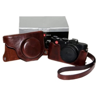 Coffee PU Leather Camera Case Bag Cover for Leica X2 with Strap - intl - 8416022 , OE680ELAA979D2VNAMZ-18218623 , 224_OE680ELAA979D2VNAMZ-18218623 , 776160 , Coffee-PU-Leather-Camera-Case-Bag-Cover-for-Leica-X2-with-Strap-intl-224_OE680ELAA979D2VNAMZ-18218623 , lazada.vn , Coffee PU Leather Camera Case Bag Cover for Leica