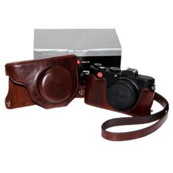 Coffee PU Leather Camera Case Bag Cover for Leica X2 with Strap - intl - 8409001 , OE680ELAA7EHB9VNAMZ-13691370 , 224_OE680ELAA7EHB9VNAMZ-13691370 , 776160 , Coffee-PU-Leather-Camera-Case-Bag-Cover-for-Leica-X2-with-Strap-intl-224_OE680ELAA7EHB9VNAMZ-13691370 , lazada.vn , Coffee PU Leather Camera Case Bag Cover for Leica
