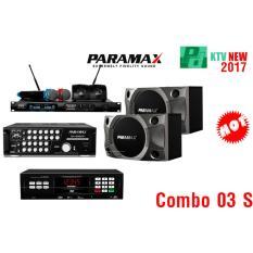 Đánh Giá Combo 03 S Loa Paramax P 900 + Amply Paramax SA 999 XP New + Đầu Paramax LS 3000 Hi-en + Bộ Micro Paramax Pro 8000 New (Đen)