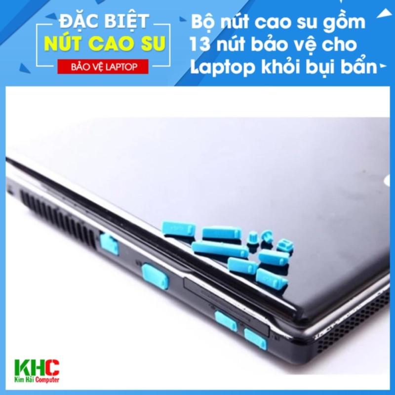 Bảng giá Combo 2 Bộ 13 Nút Chống Bụi Laptop (Giao màu ngẫu nhiên) - Kim Hải Computer Phong Vũ