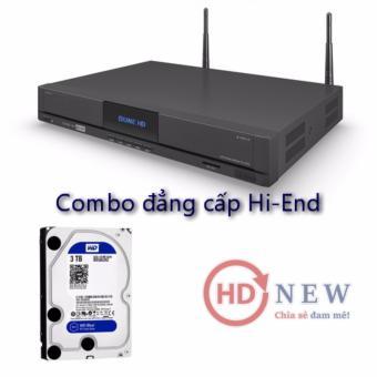 Combo đầu phát Dune Duo 4K và ổ cứng 3TB HDD 3.5″