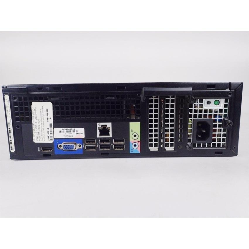 Hình ảnh Combo Máy tính Văn Phòng DELL OPTIPLEX 390 SFF + Màn hình Dell 24inch Full-HD (G640, Ram 16GB, SSD 120GB) + Quà Tặng - Hàng Nhập Khẩu