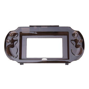 Crystal Protect Hard Guard Shell Case For Sony PS Vita PSV(Black) -intl