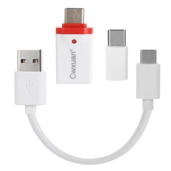 Cwxuan USB 3.1 Cable & Type C M to Micro USB / USB 3.0 FAdapter Kit - intl