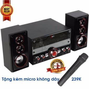 Dàn âm thanh tại nhà - loa vi tính- tặng kèm Micro không dây hát karaoke có kết nối Bluetooth...
