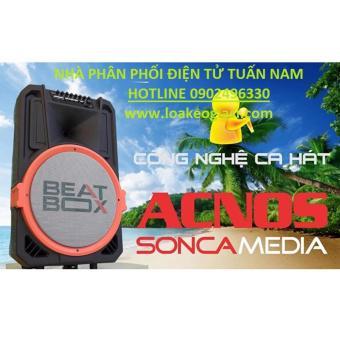 Dàn karaoke di động Bluetooth Acnos BEATBOX KB39U