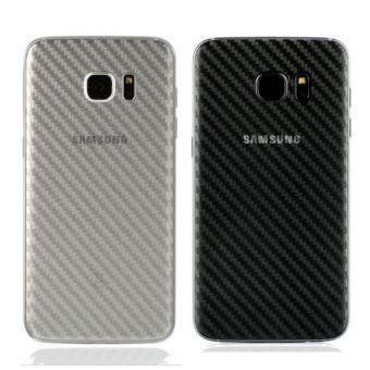 Dán mặt lưng Carbon cho Samsung J7 Prime - Trắng