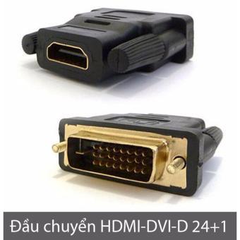 Đầu chuyển đổi DVI-D 24+1 sang HDMI (DVI-D male to HDMI female) - 8408318 , OE680ELAA71V8KVNAMZ-12936384 , 224_OE680ELAA71V8KVNAMZ-12936384 , 55000 , Dau-chuyen-doi-DVI-D-241-sang-HDMI-DVI-D-male-to-HDMI-female-224_OE680ELAA71V8KVNAMZ-12936384 , lazada.vn , Đầu chuyển đổi DVI-D 24+1 sang HDMI (DVI-D male to HDMI fe