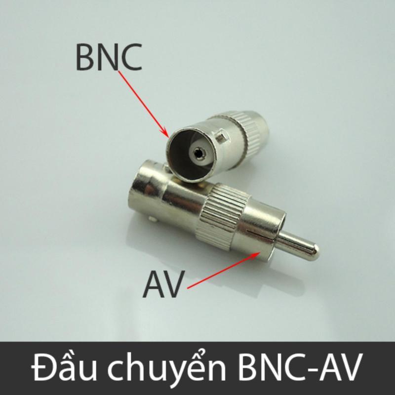 Bảng giá Đầu chuyển giắc BNC sang AV (AV sang BNC) 1 chiếc Phong Vũ