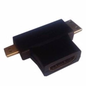 Đầu chuyển HDMI sang micro HDMI và mini HDMI - 8374324 , OE680ELAA2180HVNAMZ-3463249 , 224_OE680ELAA2180HVNAMZ-3463249 , 70000 , Dau-chuyen-HDMI-sang-micro-HDMI-va-mini-HDMI-224_OE680ELAA2180HVNAMZ-3463249 , lazada.vn , Đầu chuyển HDMI sang micro HDMI và mini HDMI