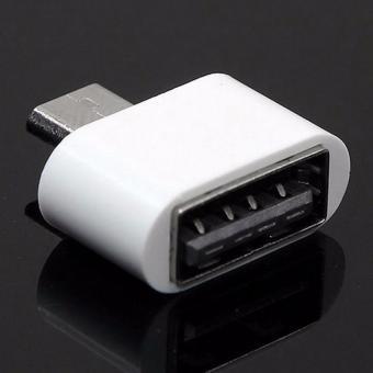 Đầu chuyển Micro USB OTG cho máy tính bảng, smart phone (trắng) - Hàng...