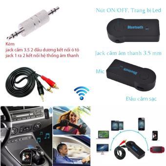 Đầu Thu Bluetooth version 3.0 tạo kết nối âm thanh Stereo đa năng