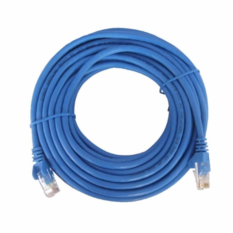 Bảng giá Dây cáp mạng CAT5E LBlink bấm sẵn 2 đầu 20 Mét (Trắng, xanh - Mới 100%) Phong Vũ