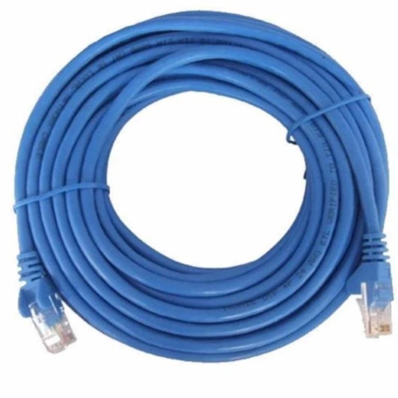Bảng giá Dây cáp mạng CAT5E UTP bấm sẵn 2 đầu 40 Mét (Màu xanh - Mới 100%) Phong Vũ