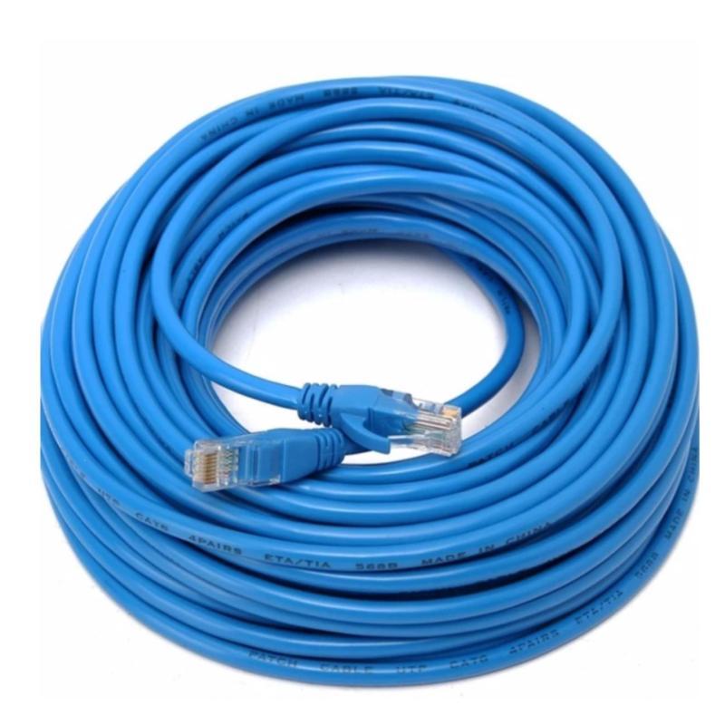 Bảng giá Dây cáp mạng CAT6E LBlink bấm sẵn 2 đầu 30 Mét (Trắng, xanh - Mới 100%) Phong Vũ