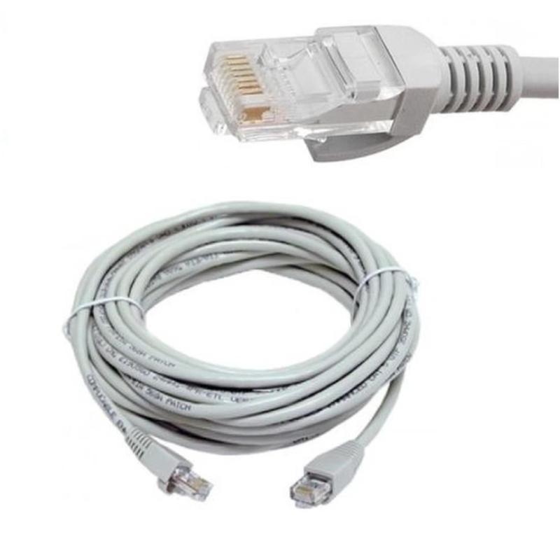 Bảng giá Dây cáp mạng Golden Link UTP Cat5E 2 đầu chống nhiễu 15m (Trắng) Phong Vũ