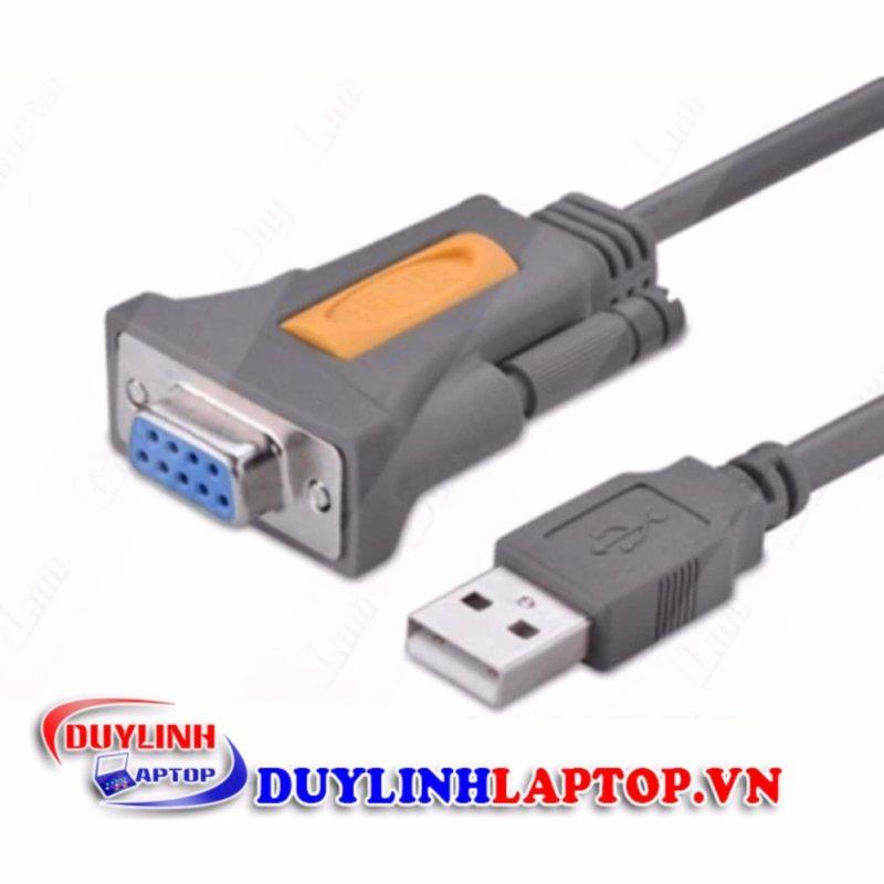 Bảng giá Dây cáp USB to COM đầu âm RS232 DB9 dài 1.5m chính hãng UGREEN 20201 Phong Vũ