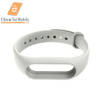Dây đeo Silicon thay thế MIJOAS cho miband 2 (Trắng)