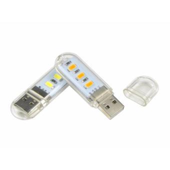 Đèn LED dùng cổng USB cho máy tính, laptop (Vàng)