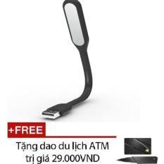 Đèn soi bàn phím cho laptop DSBPCLT-DEN (đen) + Tặng dao ATM (Đen)