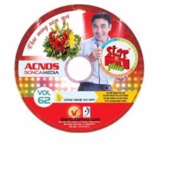 Đĩa Karaoke Acnos mới nhất Vol 62 Plus (đĩa đỏ)