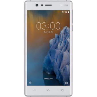 Điện thoại di động Nokia 3 (Silver White) - Hãng phân phối chính thức