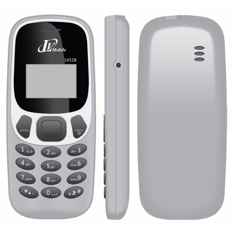 Điện thoại LV118 - 1 SIM - Màn Hình Trắng Đen