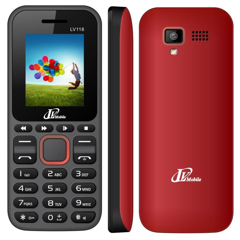 Điện thoại LV118 2sim (Đỏ)- Hàng nhập khẩu