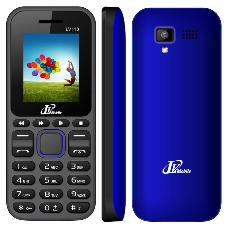 Điện thoại LV118 2sim ( Xanh)- Hàng nhập khẩu