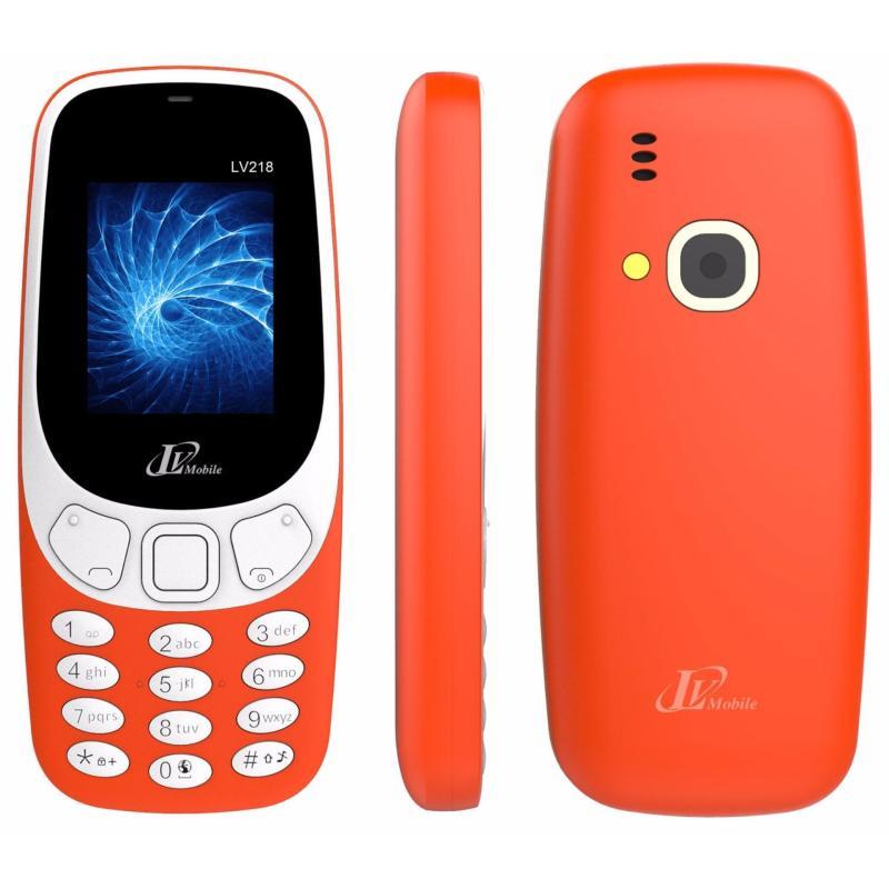 Điện thoại LV218 2sim ( Đỏ)- Hàng nhập khẩu
