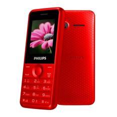Giá Sốc Điện Thoại Philips E103 2 Sim (Đỏ) Hãng Phân Phối Chính Thức