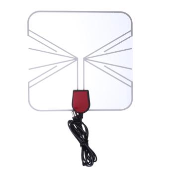 Digital Indoor HD TV Antenna Box Flat Design High Gain 75 OHM -intl